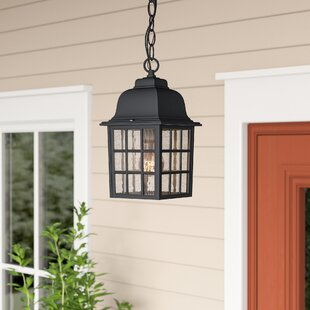 Bargain Bentonville 1-Light Outdoor Hanging Lantern By Alcott Hill