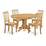 Paloma 5 Piece Dining Set by Alcott Hill®