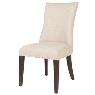 Geralyn Upholstered Dining Chair Set of 2 by Canora Grey