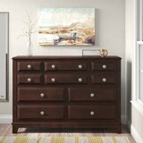 Daleville 10 Drawer Double Dresser by Darby Home Co