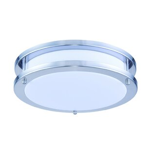 Affordable Price Krieger Flush Mount By Latitude Run