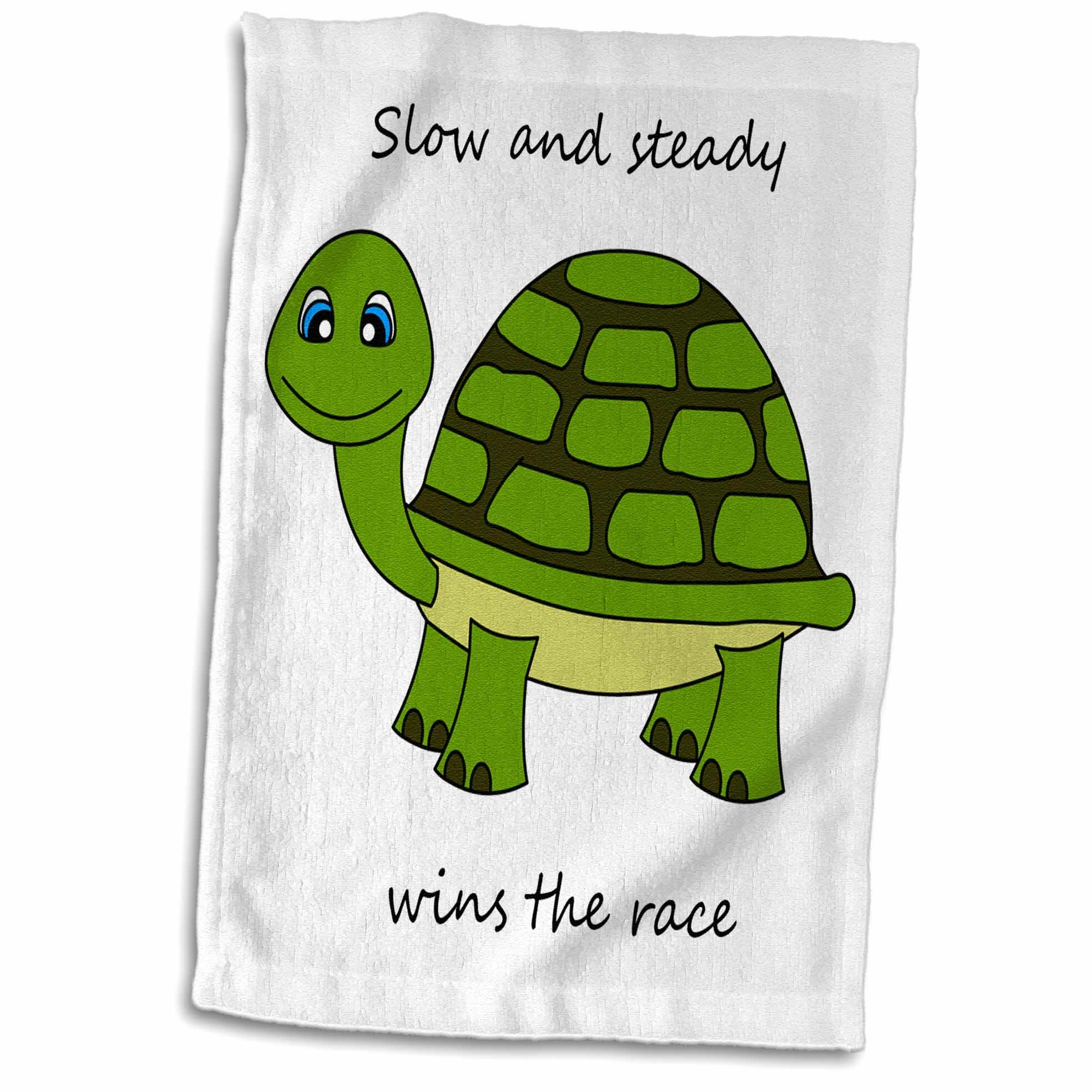 Symple Stuff Slow And Steady Wins The Race Turtle Towel Wayfair
