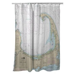 Ellisburg Cape Cod, MA Polyester Single Shower Curtain