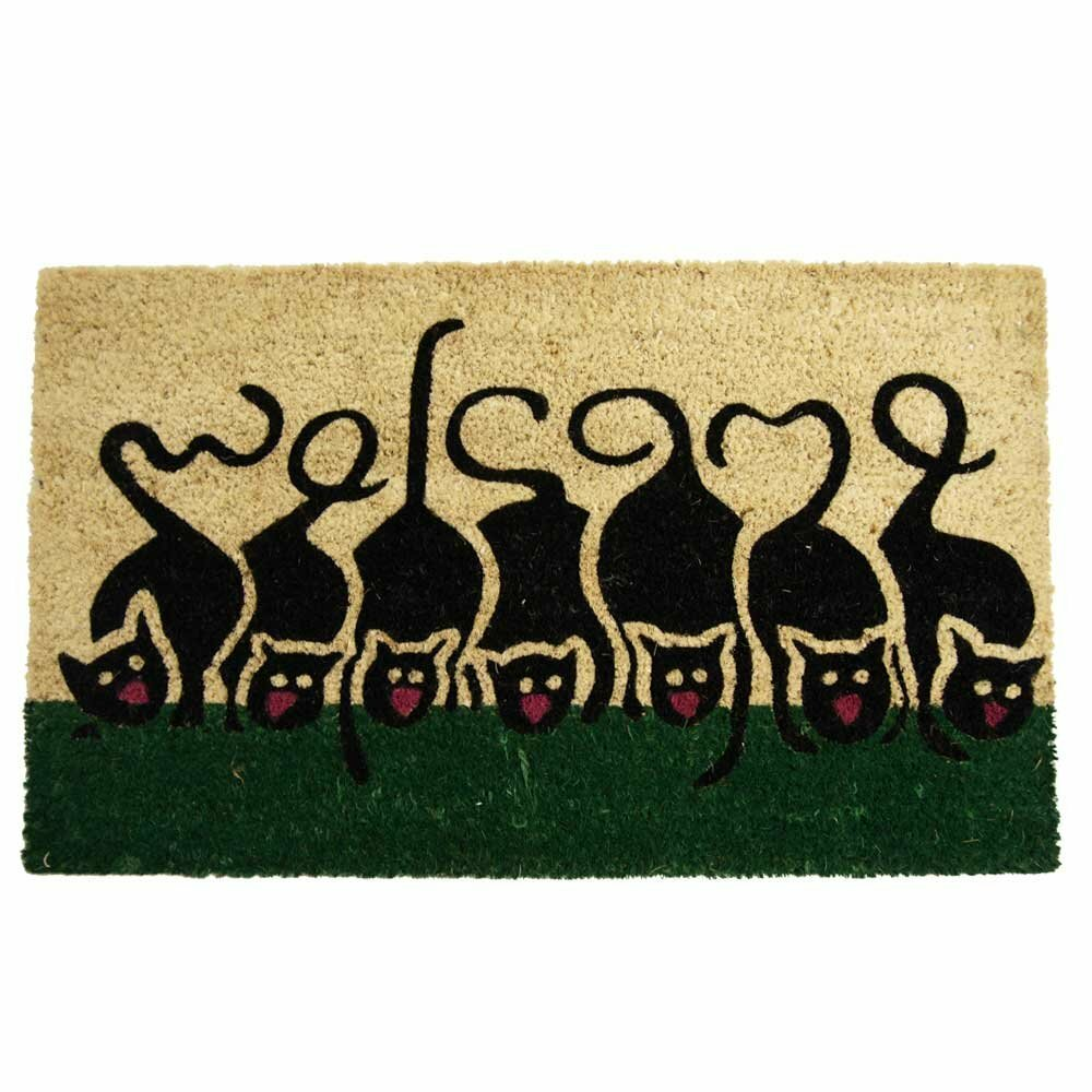 doormat mat and with personalized custom mats welcome zoom initials cat fullxfull listing il