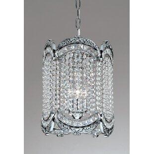 Classic Lighting Emily 1-Light Crystal Pendant