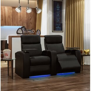Orren Ellis Power Home Theater Loveseat