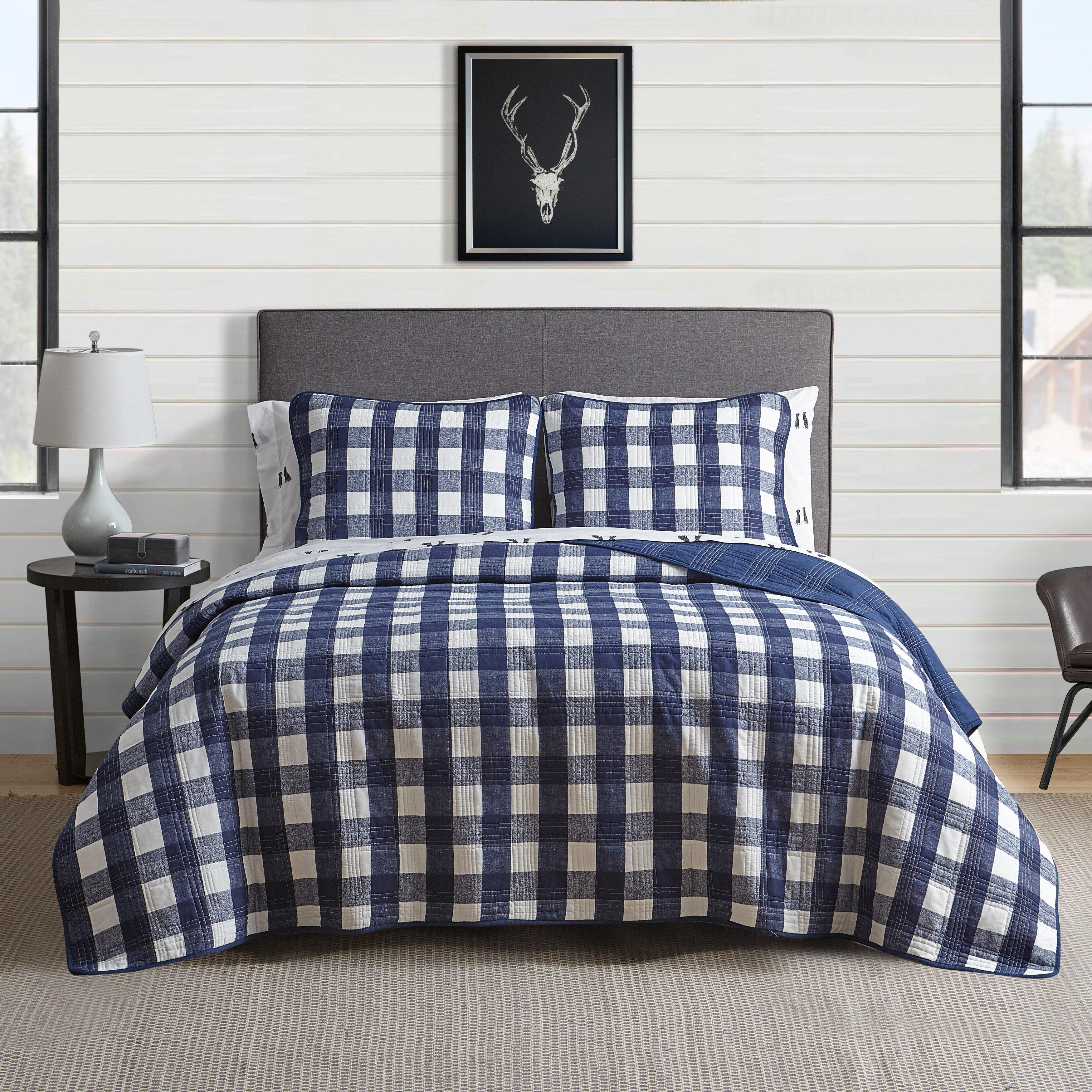Blue Rustic Bedding You Ll Love In 2021 Wayfair