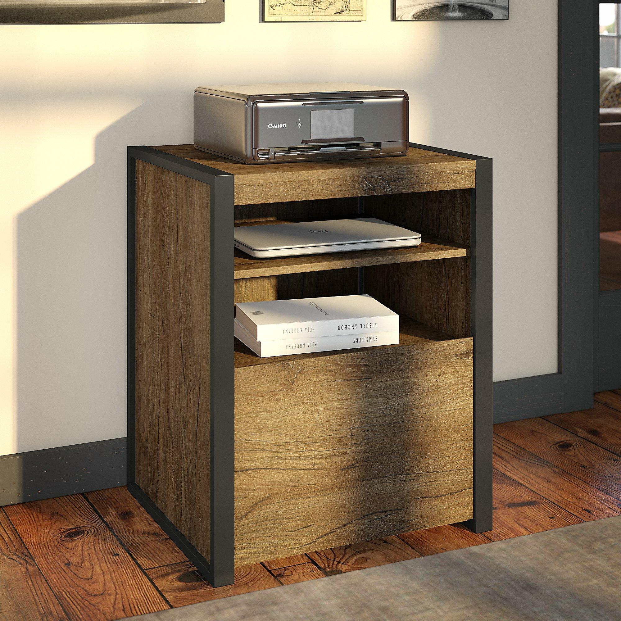 Trent Austin Design® Trapp Printer Stand 1-Drawer Vertical Filing