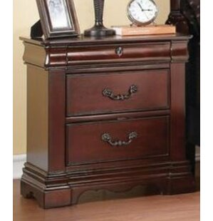 Ralph 3 Drawer Nightstand