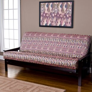 Burkett Box Cushion Futon Slipcover by World Menagerie