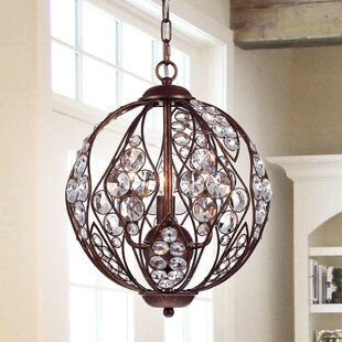 Rosdorf Park Mattie 3-Light Pendant