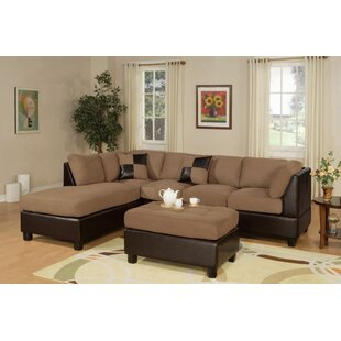 Fernald Reversible Sectional With Ottoman by Red Barrel Studio