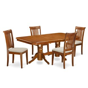 Naport 5 Piece Dining Set by East West Fu..