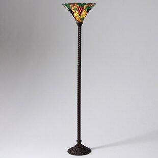 Top Brands of Grape 72 Torchiere Floor Lamp By Warehouse of Tiffany