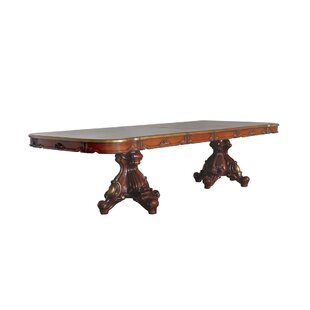 Lagunas Solid Wood Dining Table by Astoria Grand