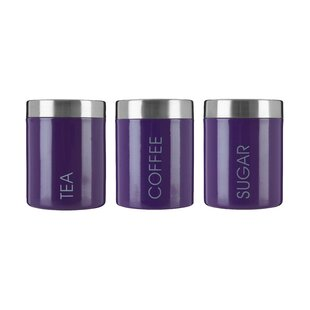3 Piece Coffee Tea Sugar Set