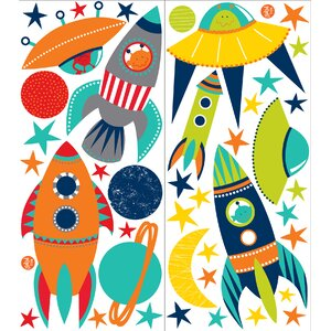 Wall Art Kit Blast Off Wall Decal