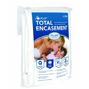 Lock-Up Total Encasement Bed Bug Pillow Protector (Set of 12)