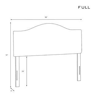 Shelby Upholstered Panel Headboard by Wayfair Custom Upholstery