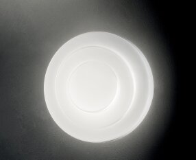 Leucos Loop-Line 1-Light Flush Mount