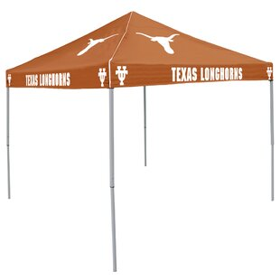 Collegiate 9 Ft. W x 9 Ft. D Steel Pop-Up Canopy - Texas by Logo Brands