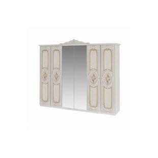 Chasteen 6-Door Wardrobe By Astoria Grand