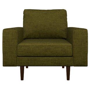Binns Cross Weave Armchair by Corrigan Studio