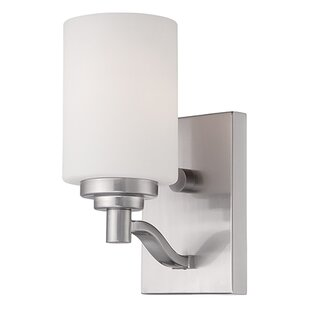 Compare prices Hester 1-Light Wall Sconce By Andover Mills