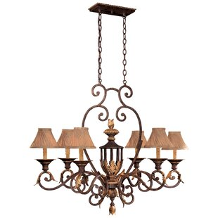 Metropolitan by Minka Zaragoza 6-Light Chandelier