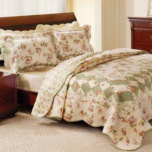 Raila Cotton Reversible Quilt Set