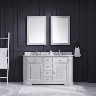 Diana 60 Double Bathroom Vanity Set by Ove Decors