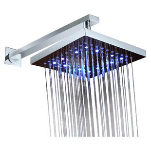 Reviews Volume Control LED Rainfall Shower Faucet By Sumerain International Group