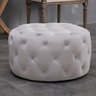 House of Hampton Horncastle Tufted Cocktail Ottoman