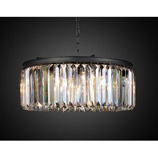 Orren Ellis Radank 6-Light Crystal Chandelier