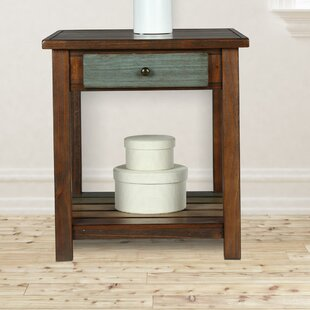 Great choice Roemer End Table with Storage By Bloomsbury Market