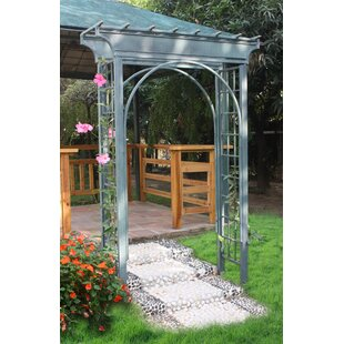 Griffith Creek Designs Caribbean Steel Arbor