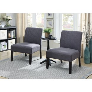 Gerner 3 Piece Slipper Chair Set by Ebern Designs