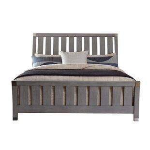 Osgood Oaken Sleigh Bed