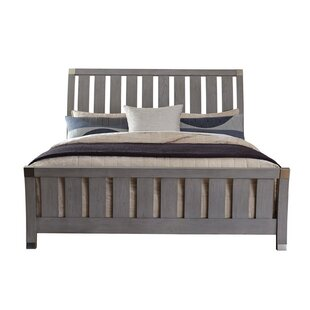 Look for Osgood Oaken Sleigh Bed by Wrought Studio Reviews (2019) & Buyer's Guide