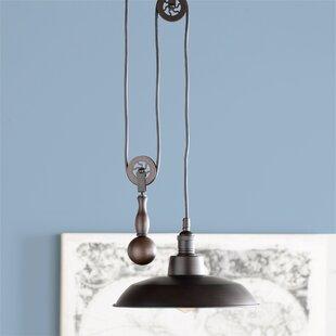 Ariel 1-Light Dome Pendant by Trent Austin Design