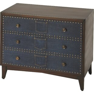Kara 3 Drawer Chest by August ..