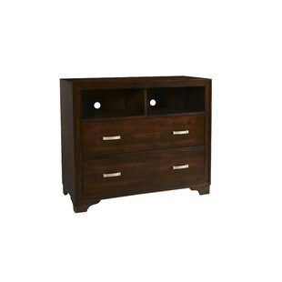 Braaten 2 Drawer Media Chest by Charlton Home