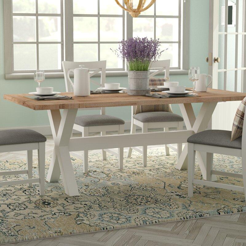 August Grove Zielke Dining Table Reviews Wayfair