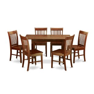 Three Posts Phoenixville 7 Piece Extendable Dining Set