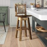 Abella 30 Swivel Barstool by Loon Peak®