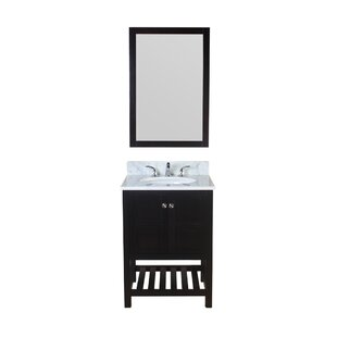 Best Reviews Calabrese 25 Single Bathroom Vanity Set By Charlton Home