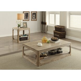 Rosecliff Heights Kearns 2 Piece Coffee Table Set
