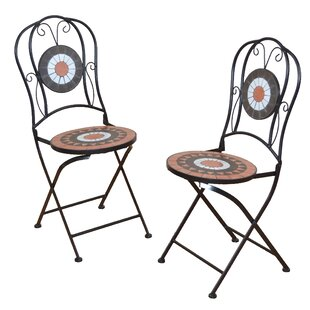 Winger Folding Garden Chair Set (Set Of 2) By Sol 72 Outdoor