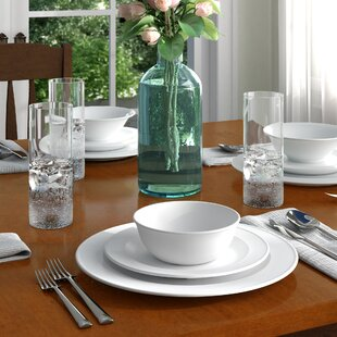Brianne Melamine 12 Piece Dinnerware Set, Service for 4