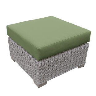 TK Classics Coast Ottoman with Cushions